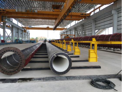 Indonesia tubular pile factory project